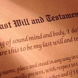 My Last Will And Testament Mad Word Blanks